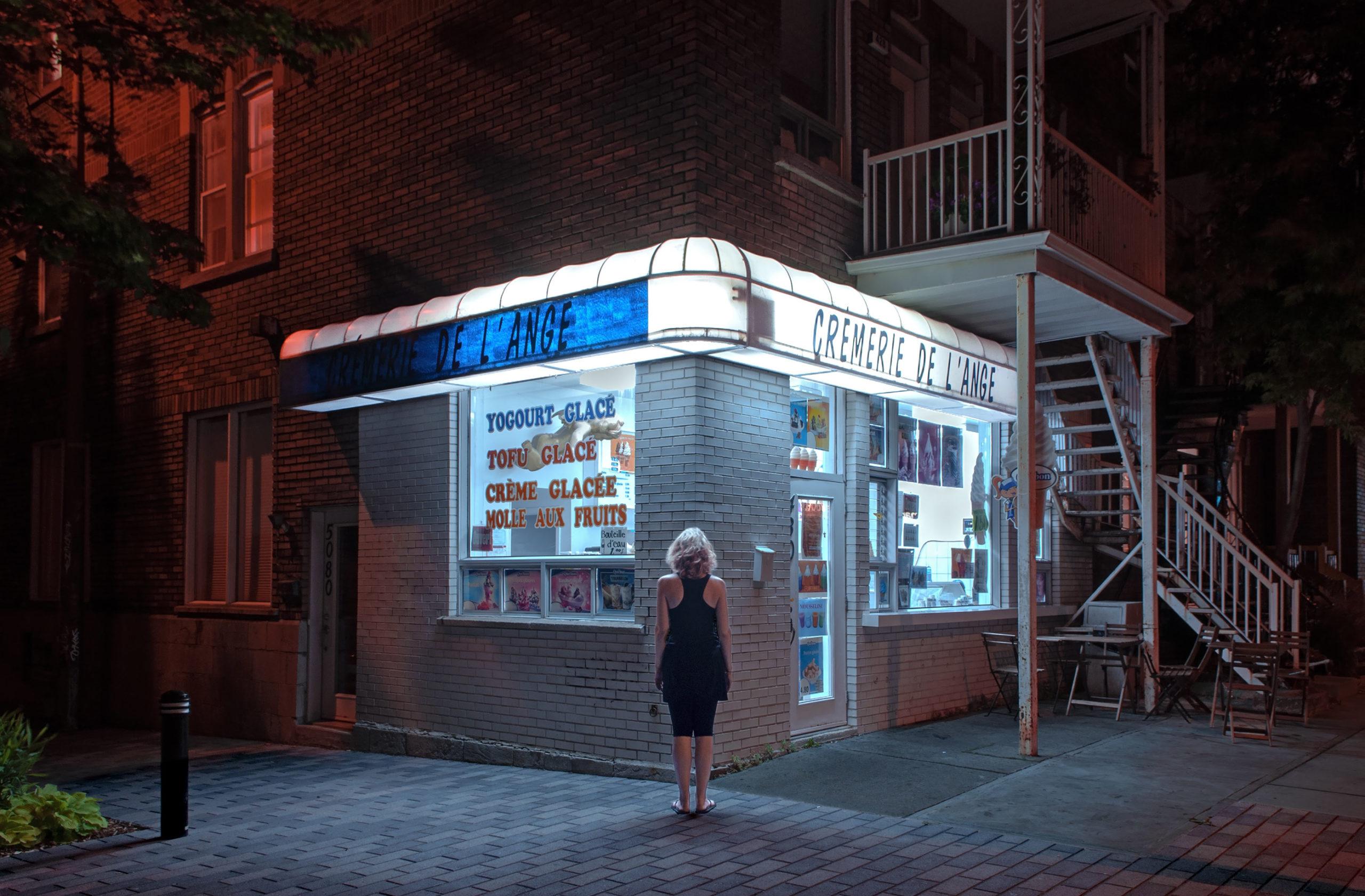 c'est la nuit - francois ollivier photographe - ORB Montreal