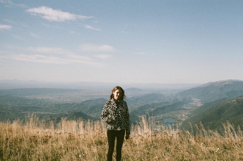 Laura sur le Monte Pizzoc, Fregona