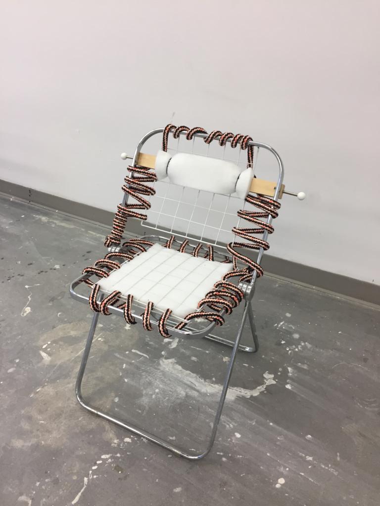 University Scrap Chair, 2015, by Laura Azzalini